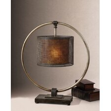 "Dalou 28"" H Table Lamp with Drum Shade"