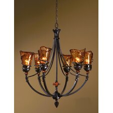 Vitalia 6 Light Chandelier