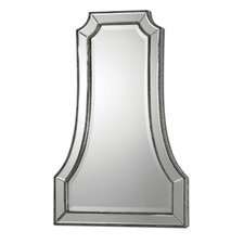Cattaneo Mirror in Antique Silver and Champagne