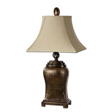 """Easton 34"""" H Table Lamp with Rectangle Shade"""