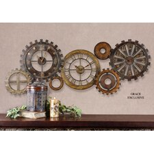 <strong>Uttermost</strong> Spare Parts Wall Clock