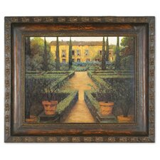 Garden Manor Framed Painting Print