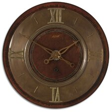 1896 Clock in Lightly Distressed Mahogany