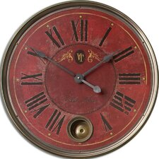 "<strong>Uttermost</strong> Regency 23"" Villa Tesio Wall Clock"