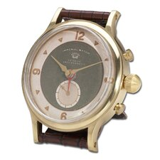 Wristwatch Alarm Round Imperial Clock