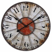 "<strong>Uttermost</strong> Oversized 29"" Ellsworth Wall Clock"