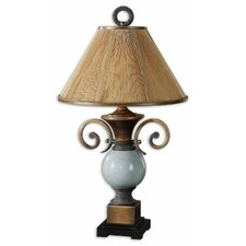 "Wayland 34"" H Table Lamp with Empire Shade"
