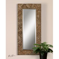 <strong>Uttermost</strong> Tehama Mirror in Antique Light Walnut Stain