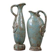 2 Piece Freya Vase Set