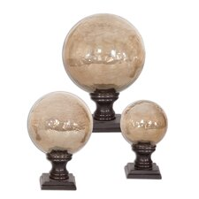 3 Piece Lamya Finial Sculpture Set