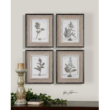 "Casual Grey Study Wall Art By Grace Feyock - 17.5"" x 14.5"" (Set of 4)"
