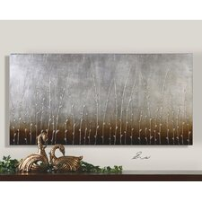 "<strong>Uttermost</strong> Sterling Branches Canvas Wall Art By Eve - 30"" x 60"""