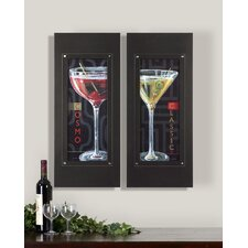 "It's 5 Pm Wall Art By Grace Feyock - 29.625"" x 12.625"" (Set of 2)"