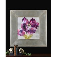 "<strong>Uttermost</strong> Purple Fluorish Wall Art By Grace Feyock - 44.875"" x 44.875"""