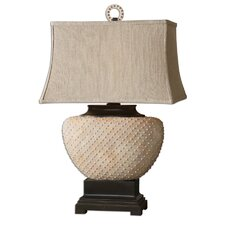 """Cumberland 29"""" H Table Lamp with Rectangle Shade"""