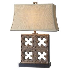 "Vettore 28.25"" H Table Lamp with Rectangle Shade"