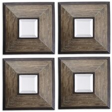 Fendrel Squares Mirrors (Set of 4)