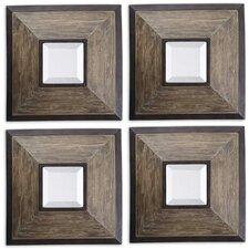 Fendrel Wall Mirror (Set of 4)