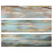 Horizon View Panel by Grace Feyock 3 Piece Painting Print Set