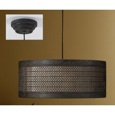 <strong>Uttermost</strong> New Orleans 3 Light Hanging Drum Foyer Pendant