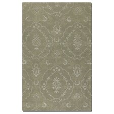 Geneva Laurel Green Floral Area Rug