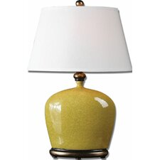 """Geraldine 27.5"""" H Table Lamp with Oval Shade"""