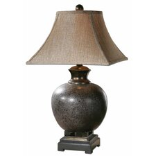 "Villaga 28.75"" H Table Lamp with Square Shade"