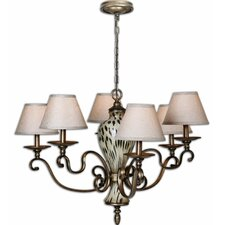 <strong>Uttermost</strong> Malawi 6 Light Chandelier