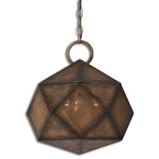 Majano 3 Light Globe Pendant