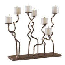 Metal Twist Candelabra