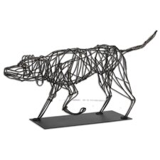 Hound Dog Figurine