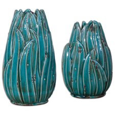 Darniel Ceramic Vase (Set of 2)