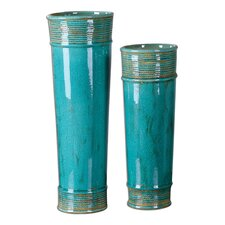 <strong>Uttermost</strong> 2 Piece Thane Vase Set