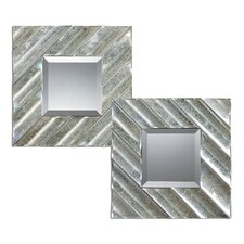 <strong>Uttermost</strong> Jovan Squares Mirror (Set of 2)