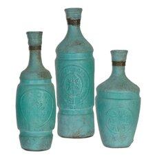 3 Piece Jalanili Vase Set