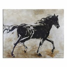 "<strong>Uttermost</strong> ""Blacks Beauty Horse"" Wall Art"