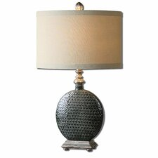 "Salinger 29"" H Table Lamp with Oval Shade"