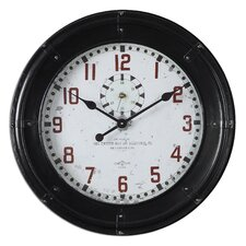 "<strong>Uttermost</strong> Oversized 24.75"" Philly Wall Clock"