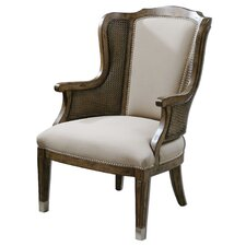 <strong>Uttermost</strong> Nessa High Back Wing Chair