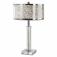 "Lucius 29"" H Table Lamp with Drum Shade"