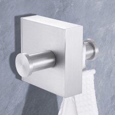 Wall Mounted Fresco Double Towel Hook