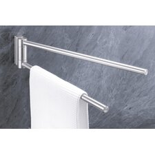 "Bathroom Accessories 18.1"" Wall Mounted Fresco Towel Bar"