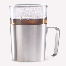<strong>ZACK</strong> Rezzo Tea Cup Holder with Glass