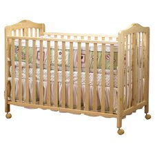 <strong>Orbelle Trading</strong> Lisa Two Level Full Size Folding Convertible Crib