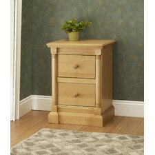 Imperial 2 Drawer Night Stand