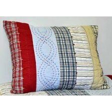 Plaids and Stripes Boys Standard Sham