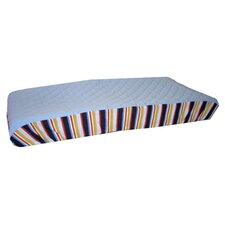 ABC123 - Quilted Changing Pad Cover in Multi