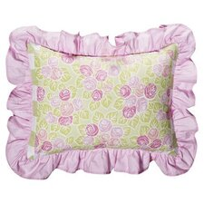 <strong>Bacati</strong> Flower Basket Decorative Pillow