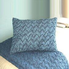 Eclectic Denim Enzyme Wash Standard Quilted Sham
