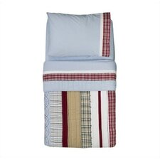 <strong>Bacati</strong> Boys Stripes and Plaids Toddler Bedding Collection